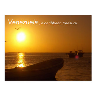 Collection: Venezuela, a caribbean treasure. Postcard