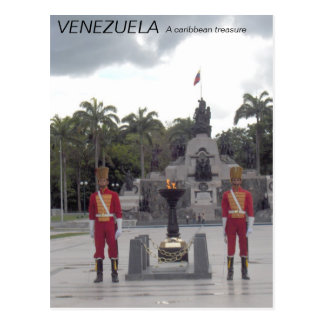 Collection VENEZUELA, A caribbean treasure Postcard