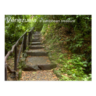 Collection:  Venezuela, , a caribbean treasure Postcard