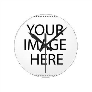 CollectionsBay Photo Create Round Clock