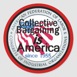 Collective Bargaining Sticker