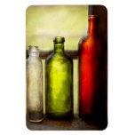 Collector - Bottles - Still life of three bottles Rectangular Magnets