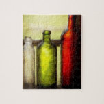 Collector - Bottles - Still life of three bottles Puzzles