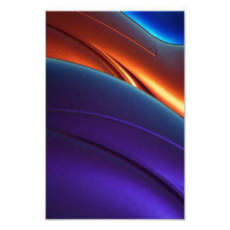 Collector Color Curves. Photo Print