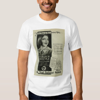 Colleen Moore 1926 vintage movie ad T-shirt