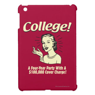 College: 4 Year Party 100,000 Cover Case For The iPad Mini