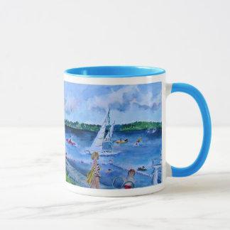 college club beach mug