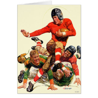 College Football Greeting Card