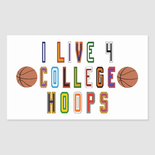 College Football T-Shirts & Gifts Rectangular Stickers