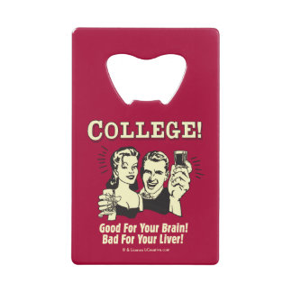 College: Good For Brain Bad For Liver