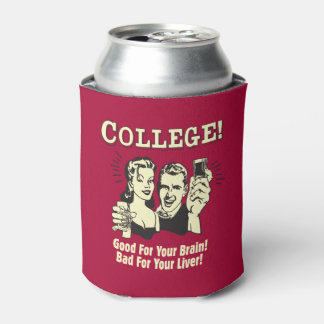 College: Good For Brain Bad For Liver Can Cooler
