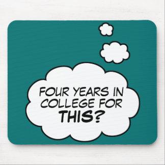 College Graduate mousepad