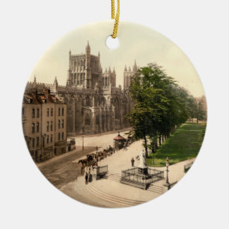 College Green, Bristol, England Christmas Ornament