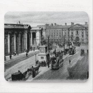 College Green, Dublin, c.1900 Mouse Mat
