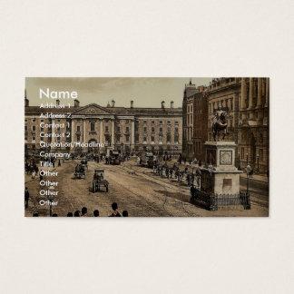 College Green. Dublin. Co. Dublin, Ireland classic Business Card