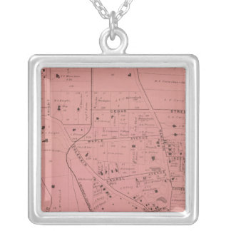 College Hill, Ohio Silver Plated Necklace