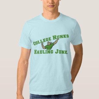 College Hunks Hauling Junk Basic Tee Shirts