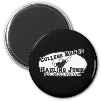 College Hunks Hauling Junk Black and White Magnets