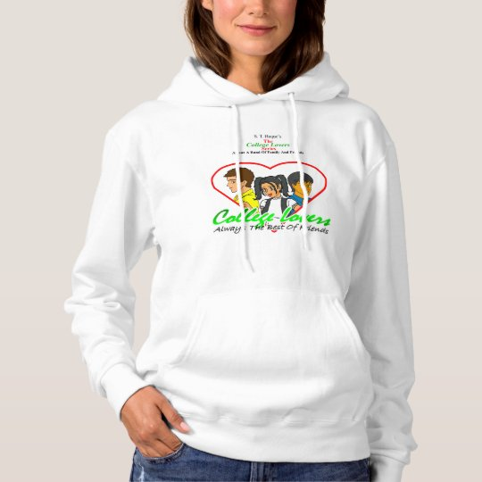College Lovers Hooded Sweatshirt