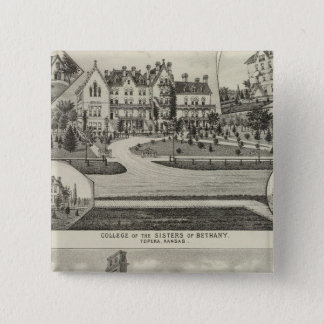 College of the Sisters of Bethany 15 Cm Square Badge