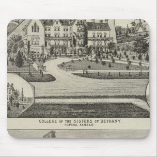 College of the Sisters of Bethany Mouse Mat