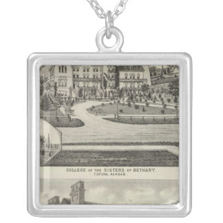 College of the Sisters of Bethany Silver Plated Necklace