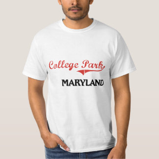 College Park Maryland City Classic Tshirt
