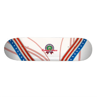 College Place WA Skateboard Deck