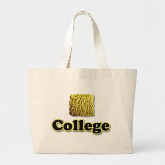 College Ramen Large Tote Bag