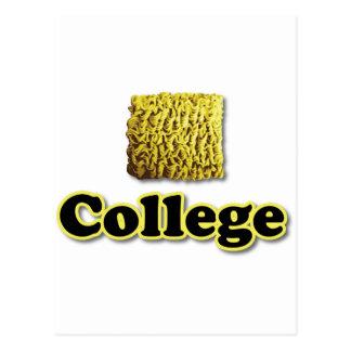 College Ramen Post Card