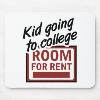 College Room Rent Mouse Pad