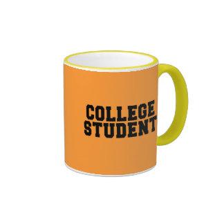 COLLEGE STUDENT COFFEE MUG