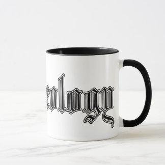 """college study mug """"archaeology"""""""