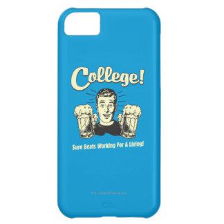 College: Sure Beats Working Living iPhone 5C Case