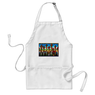 College Tech or High School Graduate Print Aprons
