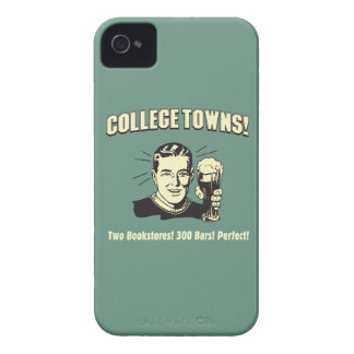 College Towns: 2 Bookstores 300 Bars iPhone 4 Case