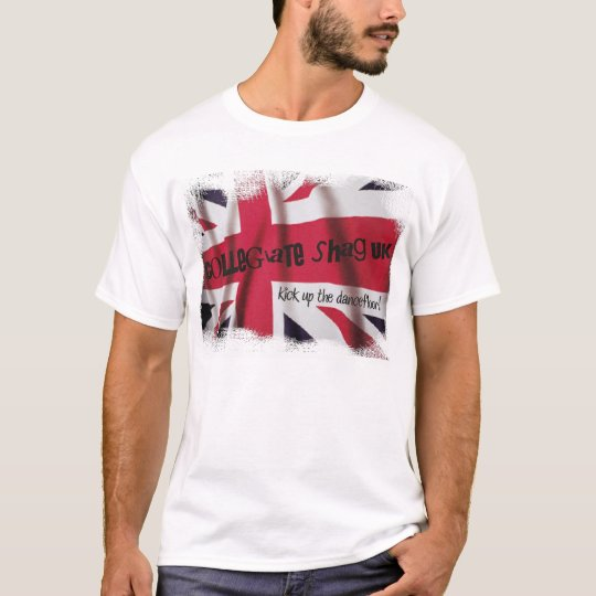 Collegiate Shag UK Union Flag T-shirt