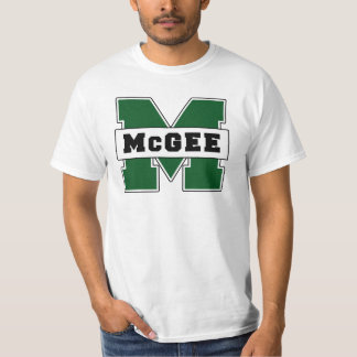 Collegiate-Style McGee Logo Tee Shirt