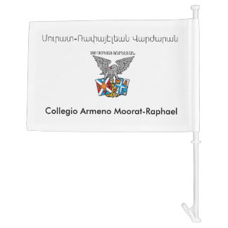 Collegio Armeno Moorat-Raphael Car Flag
