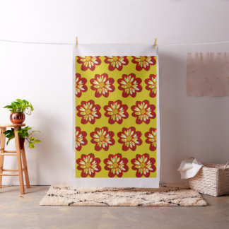 Collerette dahlia - Fabric