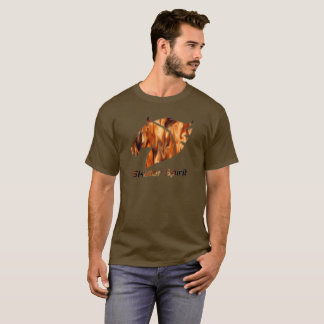 Colles T-shirt for Skater in brown