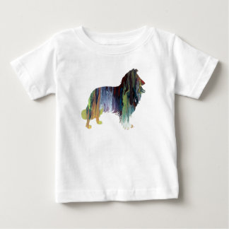 Collie Art Baby T-Shirt