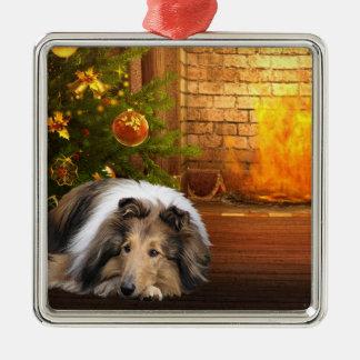Collie Christmas Christmas Ornament