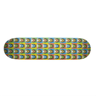Collie Dog Cartoon Pop-Art Skate Boards
