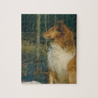 Collie Dog Puzzle