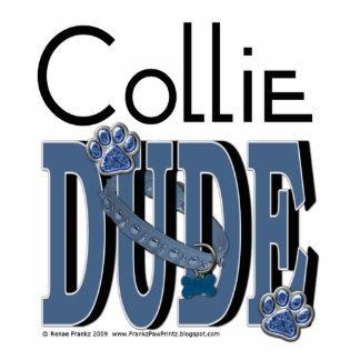 Collie DUDE Standing Photo Sculpture
