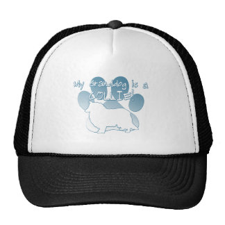 Collie Granddog Mesh Hat