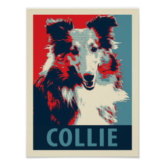 Collie Hope Parody Poster