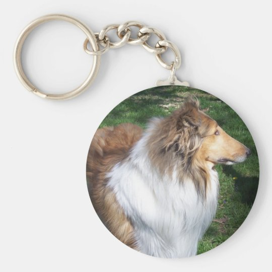 COLLIE KEY RING