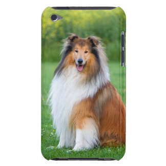 Collie rough dog ipod touch 4G case, gift idea iPod Touch Case